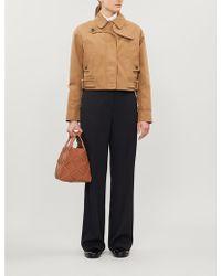 Sportmax Lana Cropped Jersey Jacket