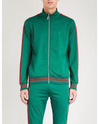 Criminal Damage - Carnaby Sports-jersey Track Jacket - Lyst