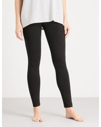 The White Company - High-rise Jersey Leggings - Lyst
