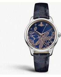 Vivienne Westwood - Vv197nvnv Fitzrovia Stainless Steel Watch - Lyst