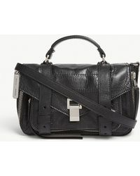 Proenza Schouler - White Ps1 Tiny Paper Leather Satchel - Lyst