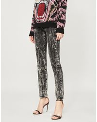 Gucci - 68 Adver Slim-fit High-rise Jeans - Lyst 60115b4fa7