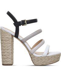 MICHAEL Michael Kors - Nantucket Platform Espadrille Sandals - Lyst
