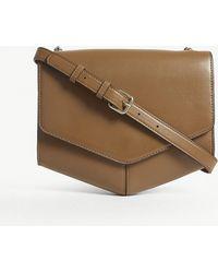 Sandro | Lou Leather Cross-body Bag | Lyst