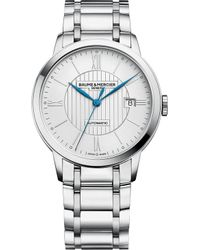 Baume & Mercier - Classima 10215 Stainless Steel Watch - Lyst