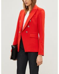Veronica Beard - Miller Dickey Double-breasted Cady Jacket - Lyst