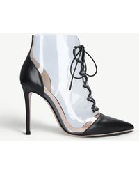 Gianvito Rossi - Icon 105 Pvc And Leather Courts - Lyst