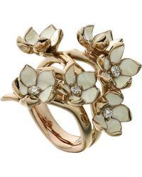 Shaun Leane | Cherry Blossom Rose-gold Vermeil | Lyst