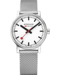 Mondaine - Mse-35110-sm Evo2 Stainless Steel Watch - Lyst