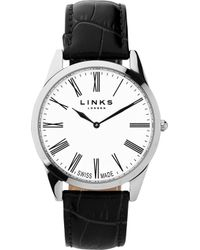 Links of London - 6020.1182 Noble Stainless Steel And Leather - Lyst