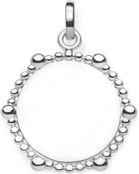 Thomas Sabo - Love Bridge Coin Dots Sterling Silver Pendant - Lyst