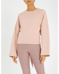 Varley - Weymouth Cotton-blend Jumper - Lyst