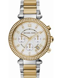 Michael Kors - Mk5626 Parker Gold-toned Stainless Steel Watch - Lyst