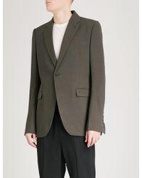Rick Owens - Regular-fit Wool-blend Jacket - Lyst
