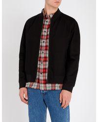 HUGO - Graphic-appliqué Padded Cotton Jacket - Lyst