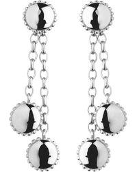 Links of London - Amulet Sterling Silver Drop Earrings - Lyst