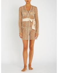 Myla - Darling Row Lace Robe - Lyst