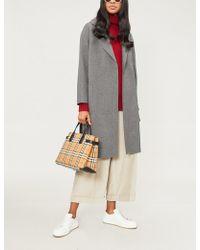Max Mara - Alati Wool Wrap Coat - Lyst