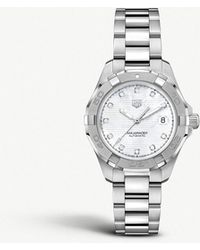 Tag Heuer - Wbd2313ba0740 Aquaracer Stainless Steel Watch - Lyst