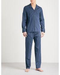 La Perla - Striped Cotton-blend Pyjama Set - Lyst