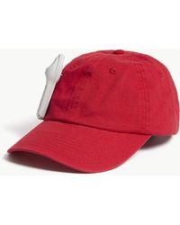 Palm Angels - Anti-theft Cotton Strapback Cap - Lyst