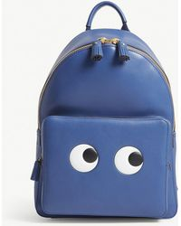 Anya Hindmarch | Eyes Mini Leather Backpack | Lyst