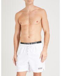 CALVIN KLEIN 205W39NYC - Intense Power Double-waistband Swim Shorts - Lyst