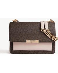 MICHAEL Michael Kors - Jade Leather Shoulder Bag - Lyst