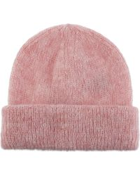 Sandro - Mohair-blend Beanie Hat - Lyst