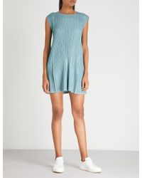 Pleats Please Issey Miyake - Mellow Pleated Dress - Lyst