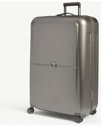 da5e73a82 Delsey Wheeled luggage in Blue - Lyst