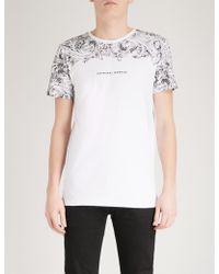 Criminal Damage - Fresco Cotton-jersey T-shirt - Lyst