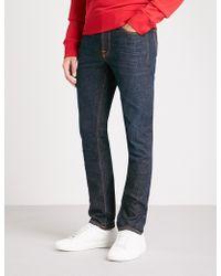Nudie Jeans - Lean Dean Slim-fit Tapered Jeans - Lyst