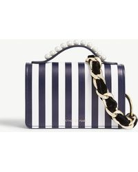Mother Of Pearl - Jude Striped Leather Shoulder Bag - Lyst
