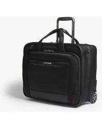 Samsonite - Black Pro5lx Two Wheeled Rolling Tote Bag 40cm - Lyst