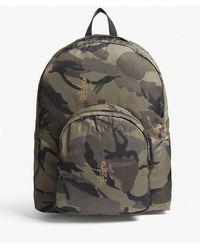Alexander McQueen - Dancing Skeleton Camouflage Backpack - Lyst