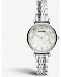 Emporio Armani - Ar11170 Stainless Steel Watch - Lyst