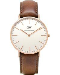 Daniel Wellington - 0507dw Classic St Andrews Ladies Watch - Lyst