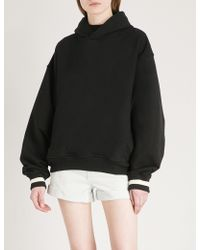 Fear Of God - Fifth Collection Oversized Cotton-jersey Hoody - Lyst