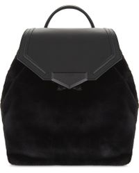 ALDO - Gazzone Faux-fur Backpack - Lyst