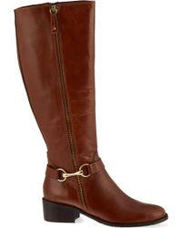 Carvela Kurt Geiger - Waffle Knee-high Boots - Lyst