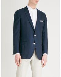 BOSS - Regular-fit Wool Suit Jacket - Lyst