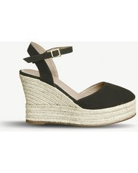 Office - Hero Leather Espadrille Wedges - Lyst