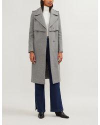 Claudie Pierlot - Grazie Wool-blend Coat - Lyst