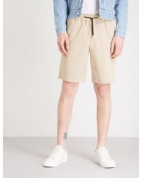Sandro - Relaxed-fit Mid-rise Stretch-cotton Shorts - Lyst