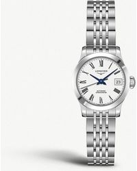Longines - L2.821.4.11.6 Record Stainless Steel Watch - Lyst