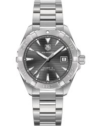 Tag Heuer - Way2113.ba0910 Aquaracer Calibre Stainless Steel Watch - Lyst