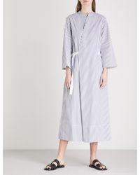 JOSEPH - Laury Candy Stripe Cotton Dress - Lyst