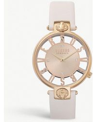Versus - Sp4903-0018 Kirstenhoff Gold-plated Stainless Steel Watch - Lyst