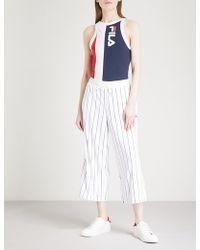 Fila | Colour-block Cotton-jersey Body | Lyst